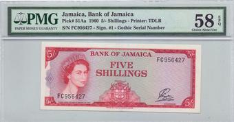 JAMAICA 100 DOLLARS 2004 P 80 TDLR UNC