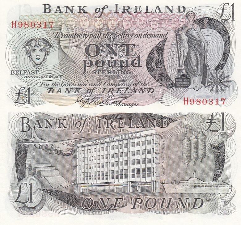 20 pounds Bank of Ireland UNC Pick 85 2008