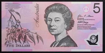 AUSTRALIA 20 DOLLARS 2008 P 59 POLYMER UNC