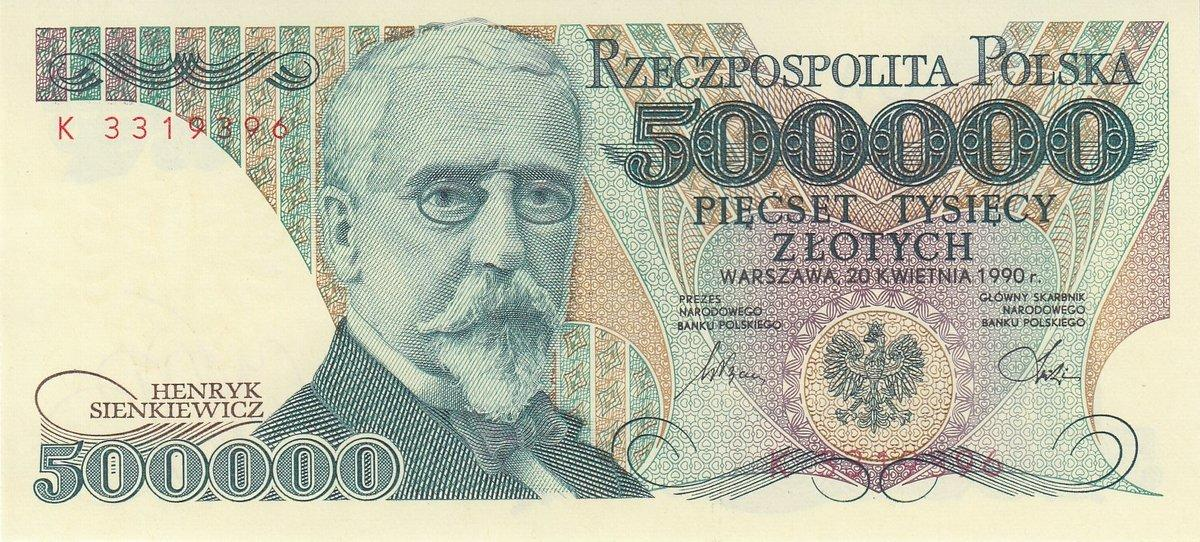 POLAND 100,000 100000 ZLOTYCH 1993 P 160 UNC