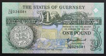 UNC P-56 57 58 59 Guernsey SET 4 PCS 5 10 20 50 Pounds