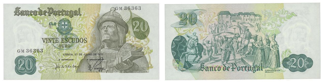 lp ANGOLA 1971-20$00-20 Escudos
