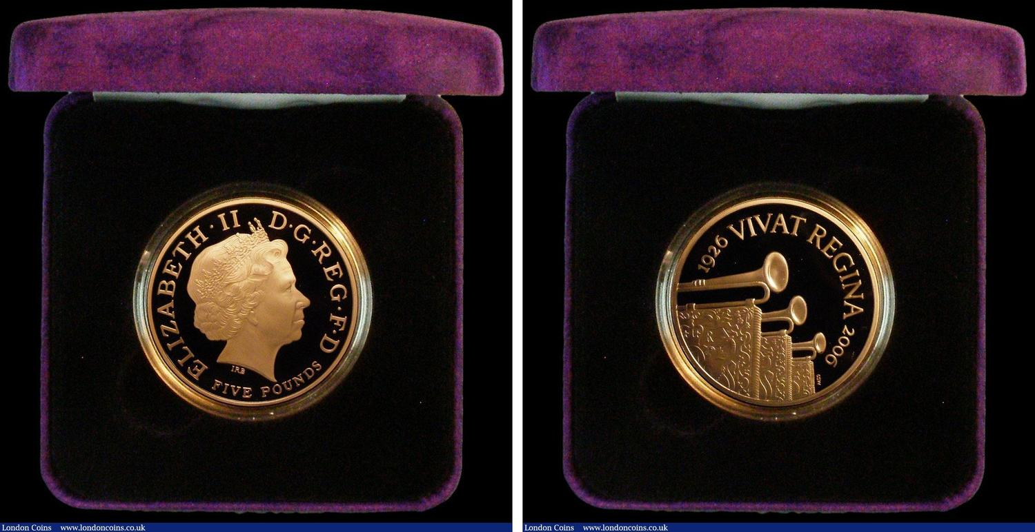 2006 80th Anniversary of the Queen Oversized 25 Cents Coin