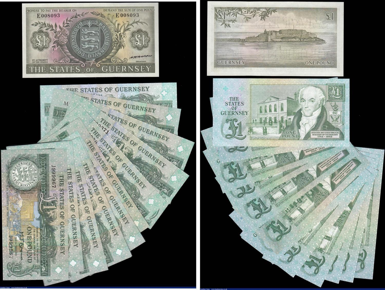 4 NOTE SET ~ EGYPT ~ 5; 10; 25 Piastres plus 1 Pound notes All UNC;