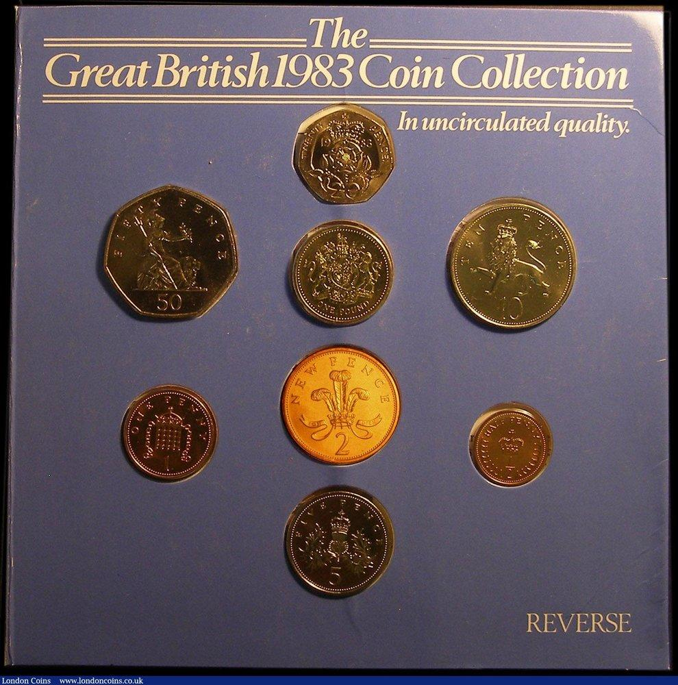 GREAT BRITAIN SET 2 COIN 1 2 PENCE 2016 UNC