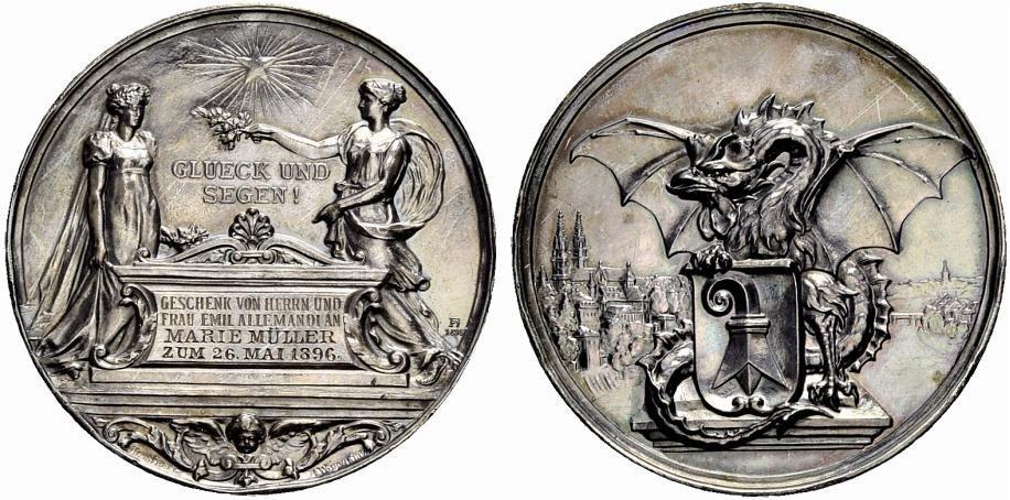 Numisbids Münzen Medaillen Gmbh Auction 36 Lot 966 Medaillen