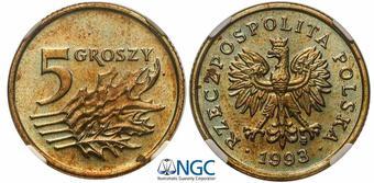 50 groszy 1993 доллар на удачу