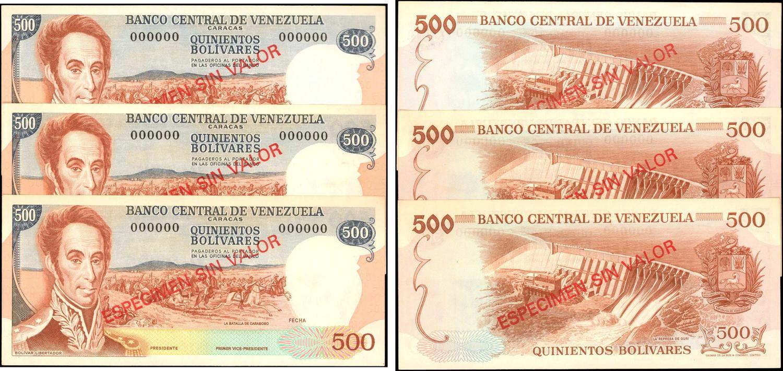1974 P-46 Almost Uncirculated Venezuela 20 Bolivares AU