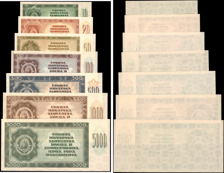 MONGOLIA 20 MONGO 1993 P 50 UNC LOT 10 PCS