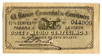 Äthiopien Probe 1 Dollar Nd 1945 Pick 12 S Selten