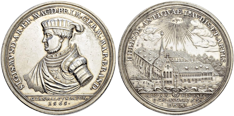 Silber Königreich Preussen Friedrich Ii 1786 1740-1786 Auf Seinen Tod