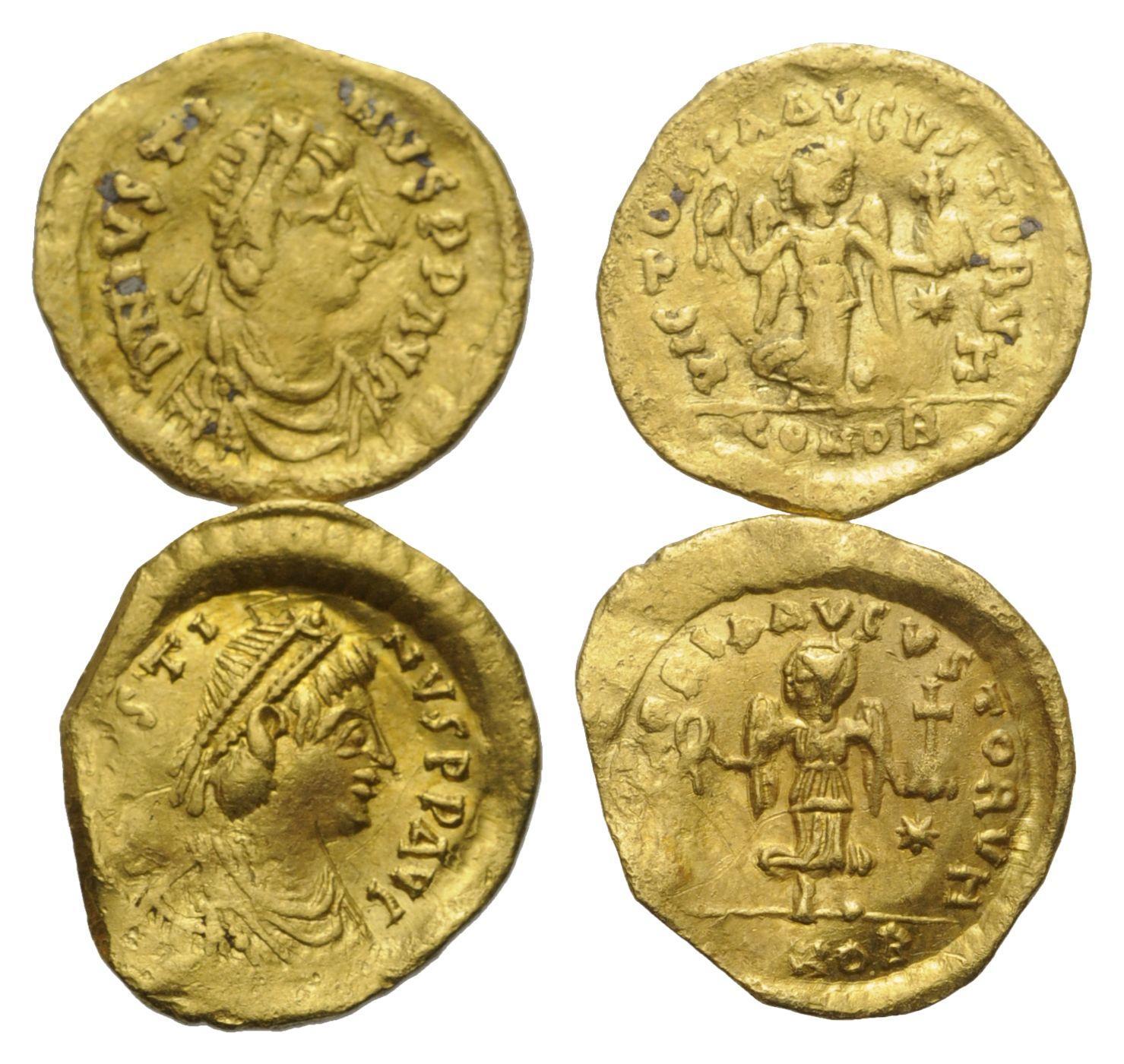 Byzantinische Münzen Byzantinische Münze Lot 2 Stück