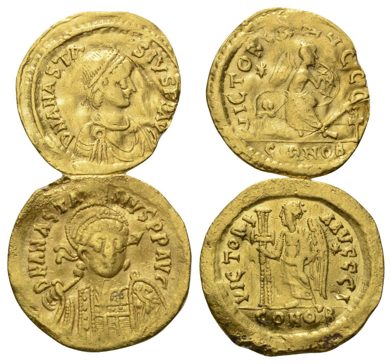 Münzen Mittelalter 5 Stück Byzantinische Münzen Byzantinische Münzen