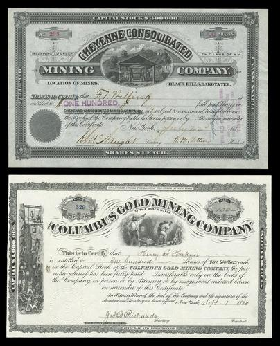NumisBids: Spink USA Auction 340 (17-18 Apr 2018): Stocks