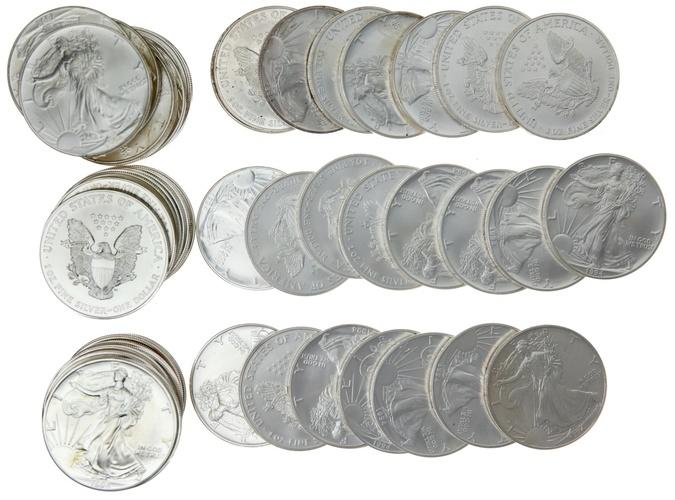 2000-2017 Kennedy Half 36 Coin Brilliant Uncirculated  Mint Roll Set
