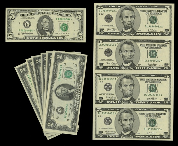 1976 $2 Star Atlanta Distric Federal Reserve Note FR# 1935-F* Uncirculated
