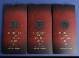 2001 RAM $1 UNC 3 coin set Australian Defence Forces
