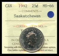 Canada 50-cent 1980 business strike ICCS MS-66 GEM