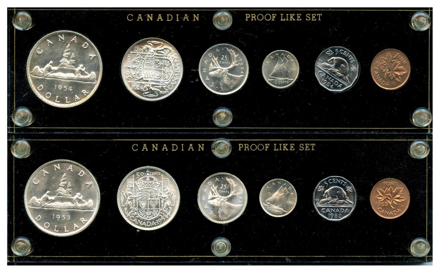 Canada 1956 to 1970 Gem BU Small Penny 16 Coin Collection!!