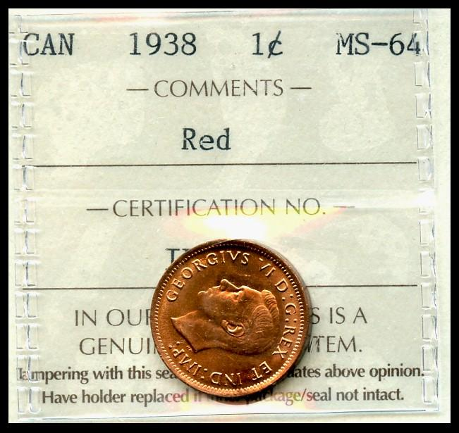 1982 LG DT BRONZE MS-65RD penny Graded by NGC.