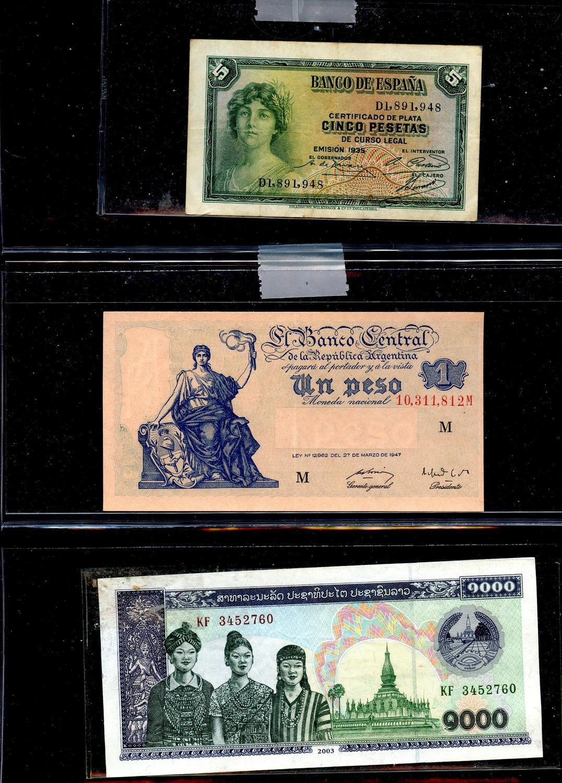 ARGENTINA NOTE  $100 SERIAL B  P.345  AU+