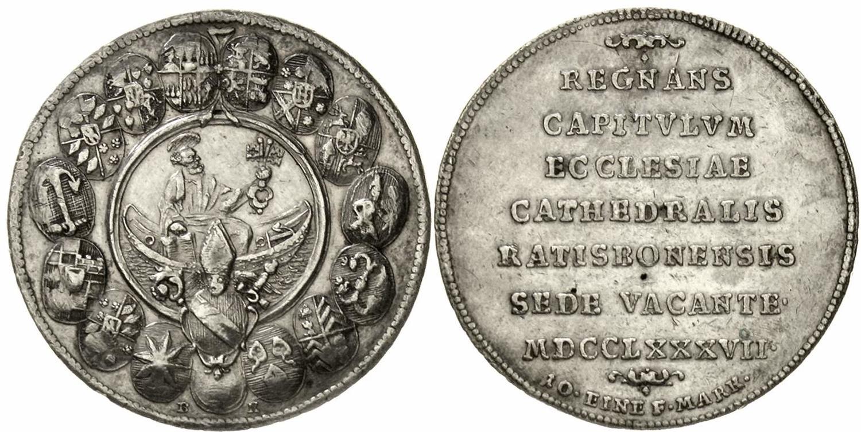 1761 Sedisvakanz Vereinigt Bistum Münster