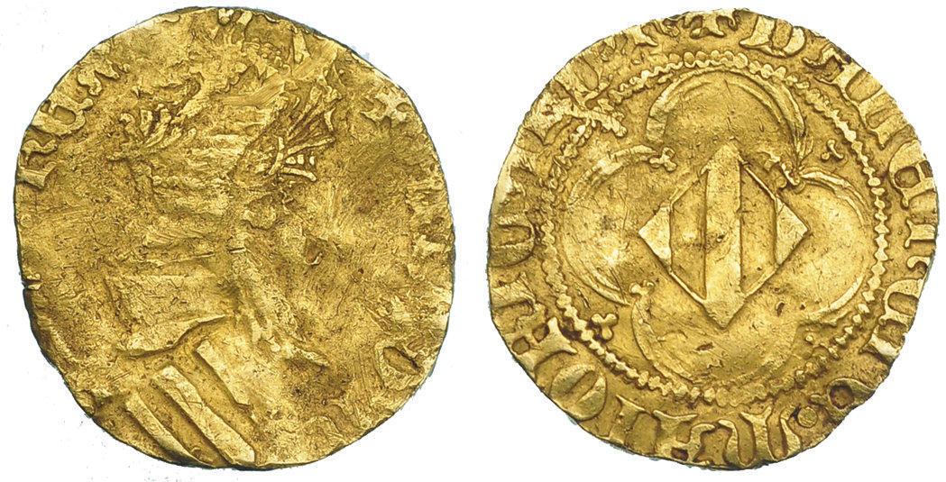 Reproducción moderna de Timbre de Oro de Alfonso el Magnánimo Image00476